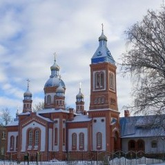 Great Martyr Saint George Church in Bauska