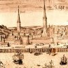 Panorama of Riga in 1572
