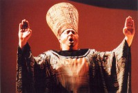 Nikolai Gorshenin in the role of the pharaoh