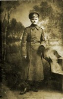 Ilya Astashkevic - soldier in the First World War