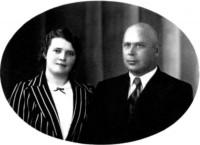 Ivan Fridrikh with his wife