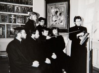 Students at the Riga Theological College