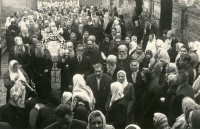 Procession in the Prayer-house, 1960