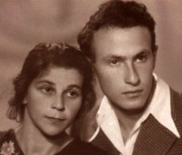 Leah Levitan and Leonid Tsilevitch at the beginning of their professional careers