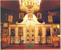 Iconostasis of the Church of st. Johann  Climacus