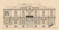 The projecte of Façade of the house of Maykapar