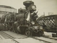 Russian locomotive in the begining of 20th century