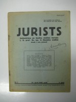 The magazine «Jurists»