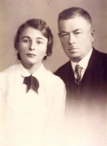 Professor Sinaisky with his daughter Natalia