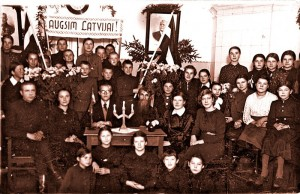 Pupils at the Viļani Russian Primary School